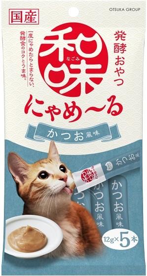 [アース・ペット] 和味 にゃめーる かつお風味 12g×5本