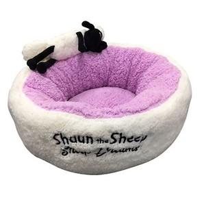 Sheep Dreams ショーン ラウンドベッド パープル S