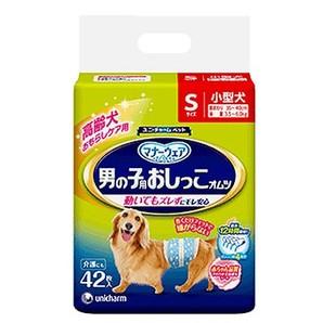 [ユニ・チャーム] マナーウェア 男の子用おしっこオムツ Sサイズ 小型犬 42枚