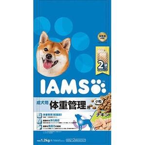 [マースジャパン] IAMAS アイムス 成犬用 体重管理用 チキン 小粒 1.2kg