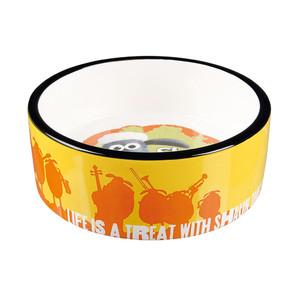 [ラブリー・ペット] TRIXIE ひつじのショーン セラミックボウル 餌入れ えさ入れ フードボール ペット用 食器 25041