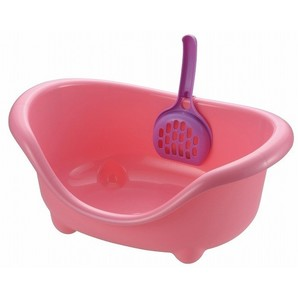 [リッチェル] こネコのトイレ ピンク