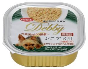 [デビフペット] デビィ シニア犬用 ササミ&すりおろし野菜 100g