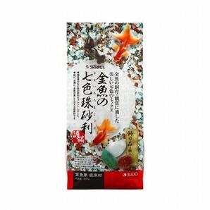 金魚の七色珠砂利800g