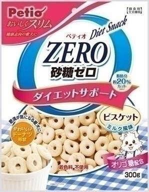 [ペティオ] おいしくスリム 砂糖ゼロビスケット ミルク風味 300g