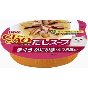 チャオこのままスープまぐろ・鰹節 NC−51