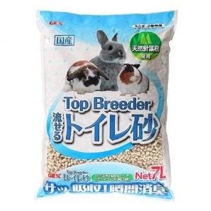 [ジェックス]Top Breeder 流せるトイレ砂7L