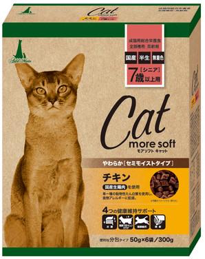 [アドメイト] Add.Mate more soft cat チキン シニア 300g