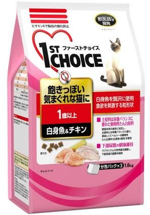 [アース・ペット] ファーストチョイス 成猫白身魚&チキン 1.6kg