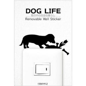 [東洋ケース] ステッカー DOG LIFE 1宝さがし