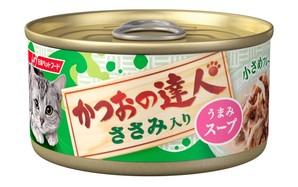 [日清ペットフード] かつおの達人 ささみ入り うまみスープ 80g