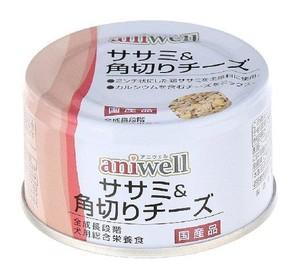 [デビフ アニウェル] aniwell ササミ&角切りチーズ 85g