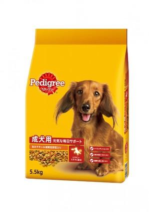 PDN9 ペディグリー 成犬用 旨みチキン&緑黄色野菜入り 5.5kg