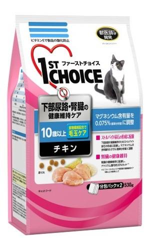 [アース・ペット] ファーストチョイス 高齢猫下部尿路・腎臓 530g