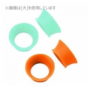 [ドリーム産業] シザーリング 2ヶ入(ミントブルー・オレンジ各1) (小)★メーカー直送品(D)