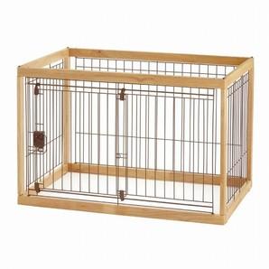 [リッチェル] 木製ペットサークル 90-60 ナチュラル