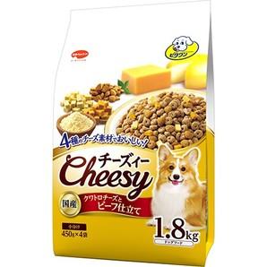 [日本ペットフード] ビタワン チーズィー クワトロチーズとビーフ仕立て 1.8kg