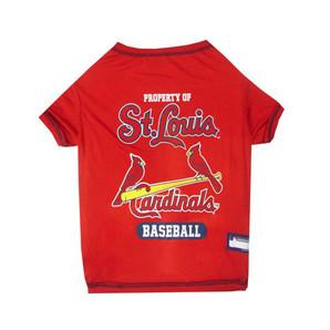 [ラブリー・ペット] セントルイスカーディナルズ Tシャツ XLサイズ