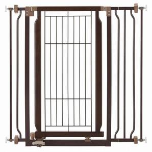 [リッチェル] ペット用 木製ハンズフリーゲート