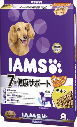 [マースジャパン] IAMAS アイムス 7歳以上用シニア チキン 8kg