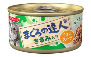 [日清ペットフード] まぐろの達人 ささみ入り うまみスープ 80g (TC6)