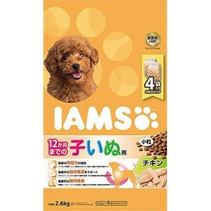 [マースジャパン] IAMAS アイムス 12か月までの子いぬ用 チキン 小粒 2.6kg