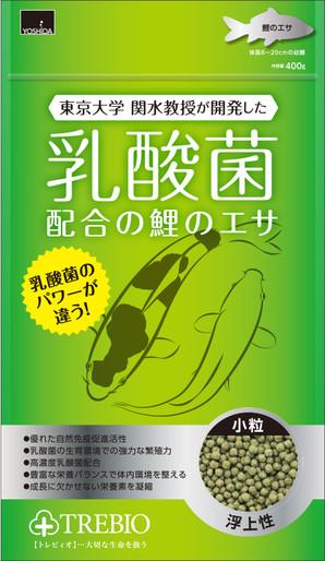 [吉田飼料] トレビオ鯉のエサ小粒 300g