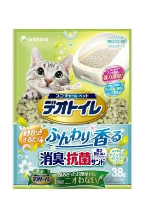 [ユニチャーム] デオトイレ ふんわり香る消臭・抗菌サンド 3.8L