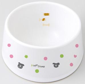 [マルカン]食べやすい陶製食器犬用S DP−247