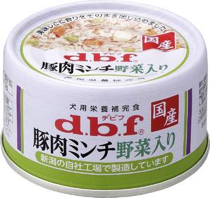 [デビフペット] 豚肉ミンチ 野菜入り 65g