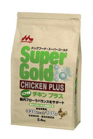 [森乳サンワールド] SuperGold チキンプラス シニア犬用 2.4kg