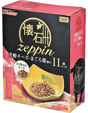 [日清ペットフード] 懐石zeppin 11歳以上用 芳醇チーズ・まぐろ節添え 200g