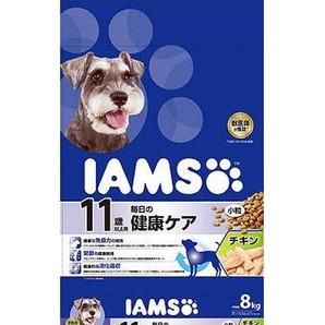 [マースジャパン] IAMAS アイムス 11歳以上用 毎日の健康ケア チキン 小粒 8kg