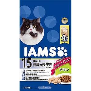 [マースジャパン] IAMAS アイムス 15歳以上用 健康な長生きのために チキン 1.5kg
