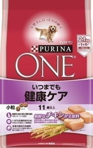 [ネスレピュリナ] ピュリナワン ドッグ 11歳以上 いつまでも健康ケア 小粒 チキン 2.1kg