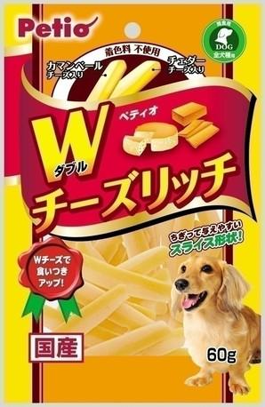 [ペティオ] Wチーズリッチ 60g
