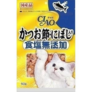 CIAOかつお節・にぼし入り50g