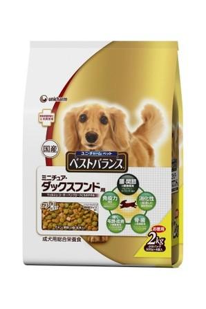 [ユニチャーム] 愛犬元気ベストバランスMダックス用2kg