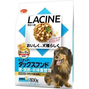 [日本ペットフード] LACINE ラシーネ ミニチュア・ダックスフンド 800g