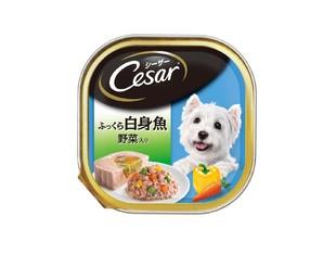 CE35N シーザー ふっくら白身魚 野菜入り 100g