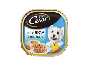 CE71N シーザー おいしいまぐろ 白身魚・野菜入り 100g