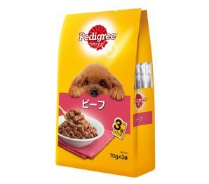 PWP5 ペディグリー 成犬用 ビーフ 70g×3袋