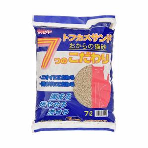 [ペグテック] トフカスサンド おからの猫砂 7L 7つのこだわり