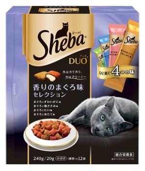 SDU12 シーバ デュオ 香りのまぐろ味セレクション 240g