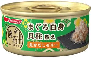 [日清ペットフード] 懐石缶kgC4ゼリーまぐろ貝柱 60g