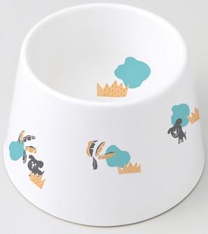 [マルカン]食べやすい陶製食器犬水用 DP−249
