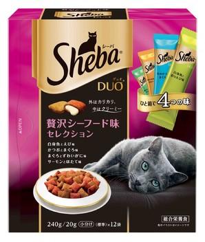 SDU23 シーバデュオ 贅沢シーフード味セレクション 240g