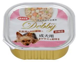 [デビフペット] デビィ 成犬用 ササミ&野菜 100g
