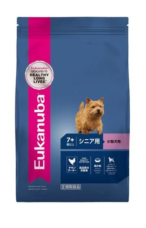 [ユーカヌバ] スモール シニア 小型犬用 7歳以上 7.5kg