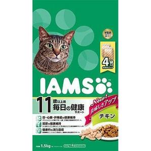 [マースジャパン] IAMAS アイムス 11歳以上用 毎日の健康サポート チキン 1.5kg